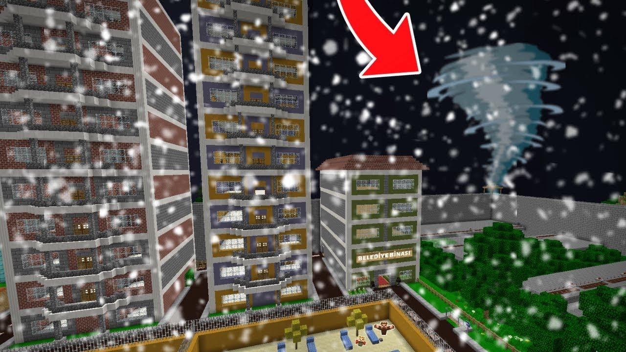 Download ŞEHRE FIRTINA GELİYOR! 😱 - Minecraft