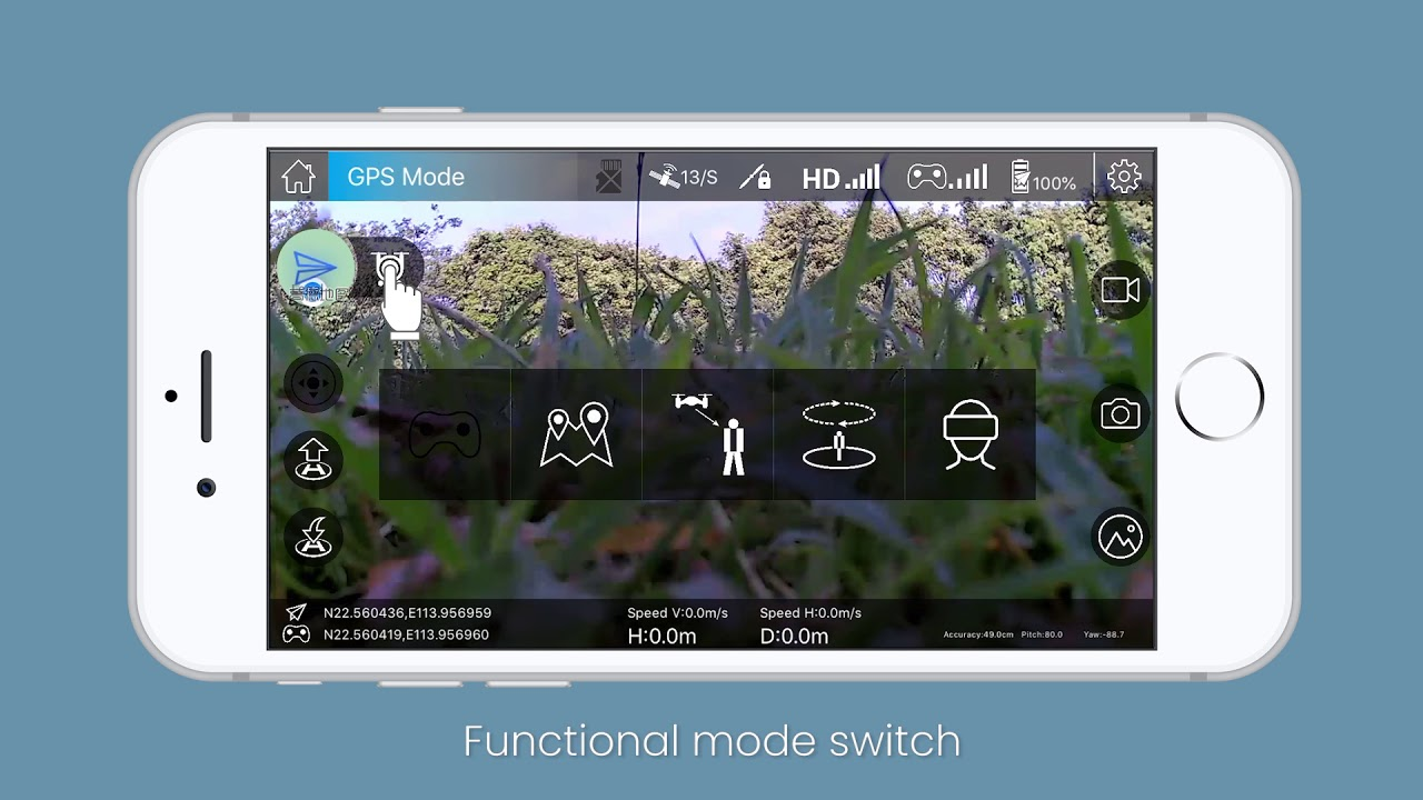 Download Tutorial Video of APP Potensic-GPS for Potensic Drone D58