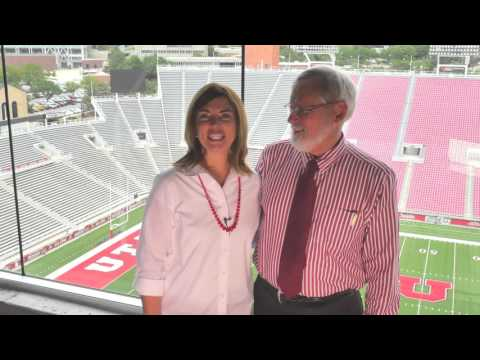 Inside the President's Suite at Rice-Eccles Stadium