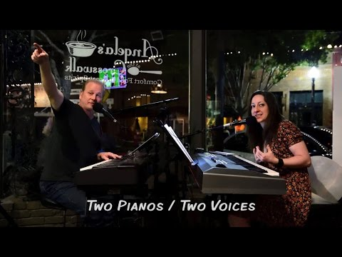 Two Pianos / Two Voices