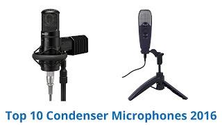 10 Best Condenser Microphones 2016