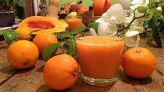 Orange Papaya Smoothie ~ Basic Recipe