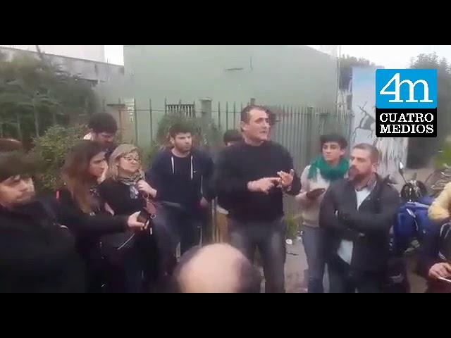 Santiago Maldonado: Julio Gutiérrez de Suteba brindó apoyo al docente intimidado por la policía
