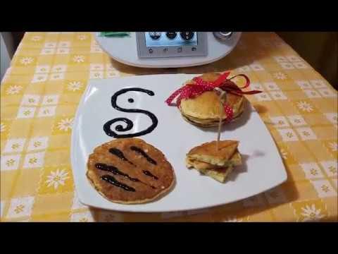 Pancakes Salati Con Zucchine E Mozzarella Bimby Per Tm5 E Tm31 Youtube