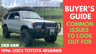 Toyota 4runner Buyer's Guide - Common Issues To Look Out For