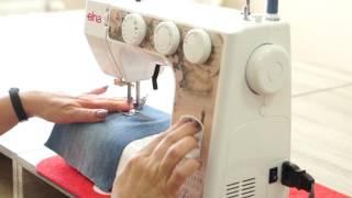 Как сделать заплатку на джинсовой ткани