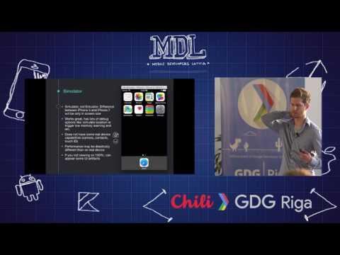 MDL Meetup #10. Deniss Kaibagarovs - iOS for Android Developer
