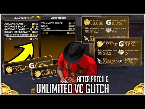 NEW UNLIMITED VC GLITCH 1K+ VC PER GAME AFTER PATCH 6!! 50K-100K- VC DAILY FAST & EASY IN NBA 2K18!