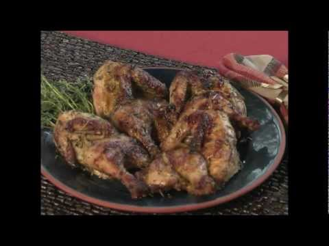 O'Neill Outside - Cornish Game Hens on the Big Green Egg