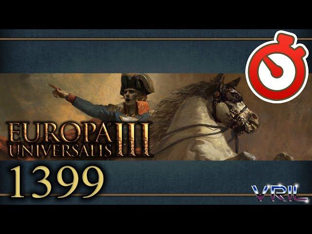Europa Universalis 3 - Grand Campaign with Crispy Border Gore 1399 - 1821 Timelapse