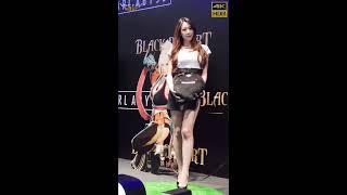 【無限HD】2018 台北國際電玩展 Taipei Game Show 黑色沙漠 美腿展示中心(4K HDR)