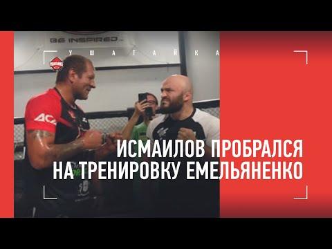 Исмаилов пробрался на тренировку Емельяненко