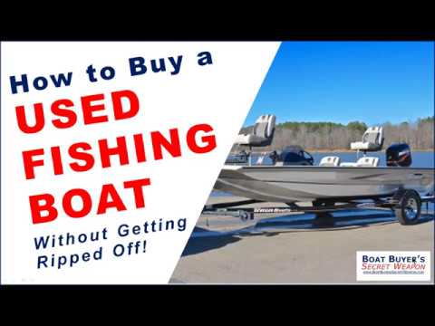 How To Buy A Used Aluminum Fishing Boat For Sale By Boat Dealer