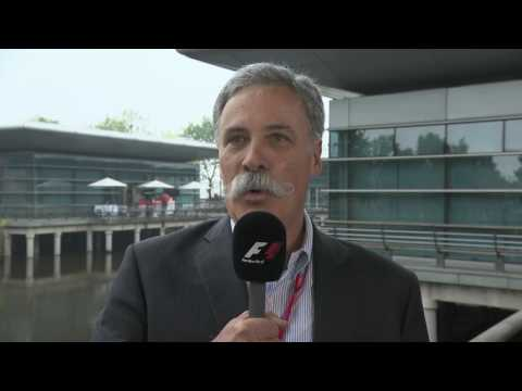 """A new vision of Formula 1"" - Chase Carey"