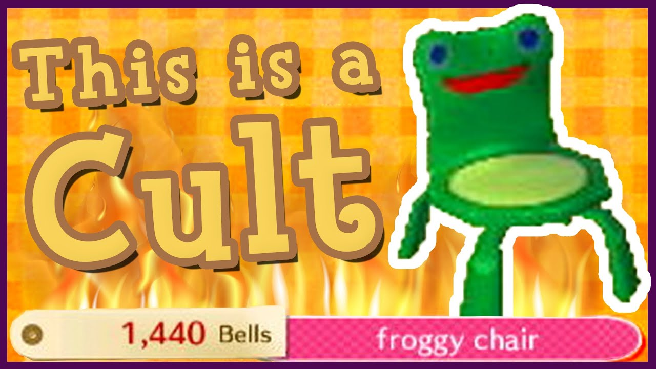 Don T Trust Froggy Chair In Animal Crossing Youtube