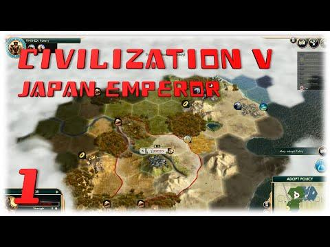 Civilization V - Japan Emperor E01: Back in Action