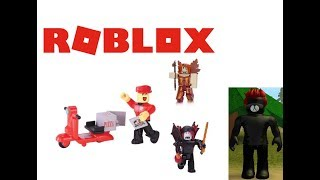 4 Virtual Item Codes | Opening Roblox Toys with Codes | Unboxing Roblox Figures