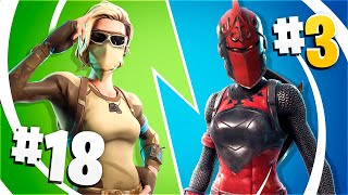 🔥RANKING of Fortnite's 20 MOST TRYHARDS/OTAKUS SKINS!🔥 (PART 2) [Flopper]