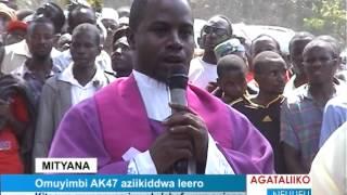 Omuyimbi AK47 aziikiddwa leero