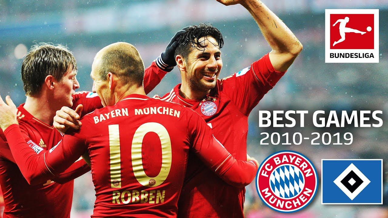 FC Bayern München vs. Hamburger SV  9-2 | The Best Games of the Decade 2010-2019