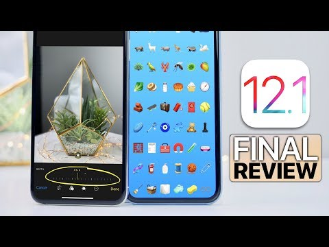 iOS 12.1 Review! Finally Released, Should You Update?