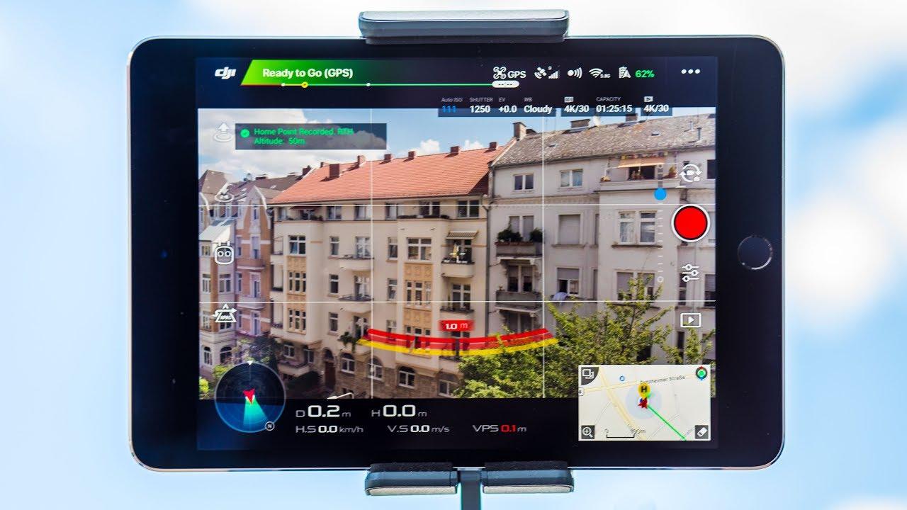 DJI Go 4 App Interface Explained | For all DJI Drones (Mavic, Phantom,  Spark, Inspire Series)