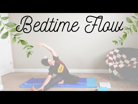 bedtime yoga  stretch before bed  relaxing gentle flow