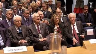 Il Presidente Mattarella all'incontro di studio alla memoria del Prof Piero Alberto Capotosti