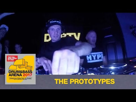 The Prototypes ft. Visionobi & MC Tempza  - Drum&BassArena 2017 Album Launch
