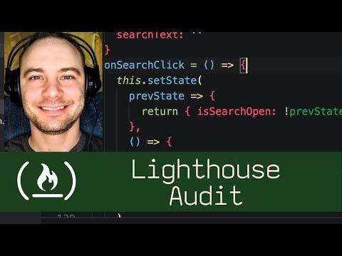Lighthouse Audit  (P5D80) - Live Coding With Jesse