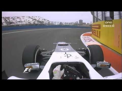 F1 Valencia 2012 - Kamui Kobayashi Onboard