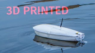 How to make a 3D printed RC boat