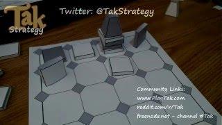 Printable Tak Set - Papercraft Assembly Video
