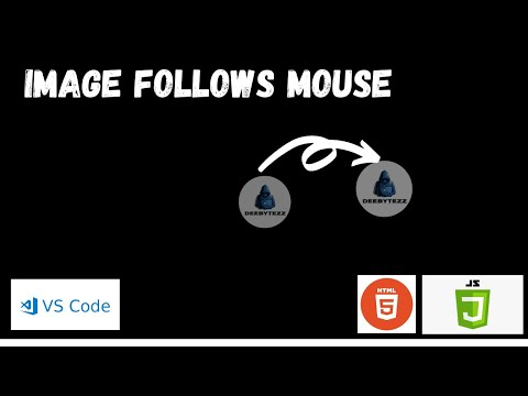 Image Follow Mouse | HTML And JavaScript