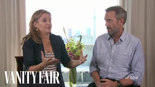 Hugh Laurie Talks to Vanity Fair's Krista Smith About the Movie