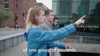 This is not your typical study abroad—WPI students Journey to Boston