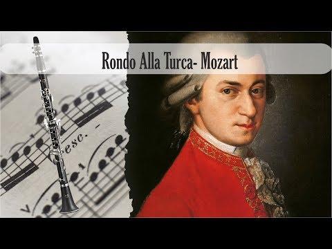 Partitura Rondo Alla Turca- Mozart Clarinete Soprano
