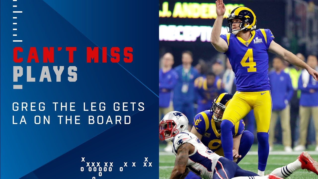 Goff & Greg the Leg Get Rams on the Board vs. Pats | Super Bowl LIII Can't-Miss Play