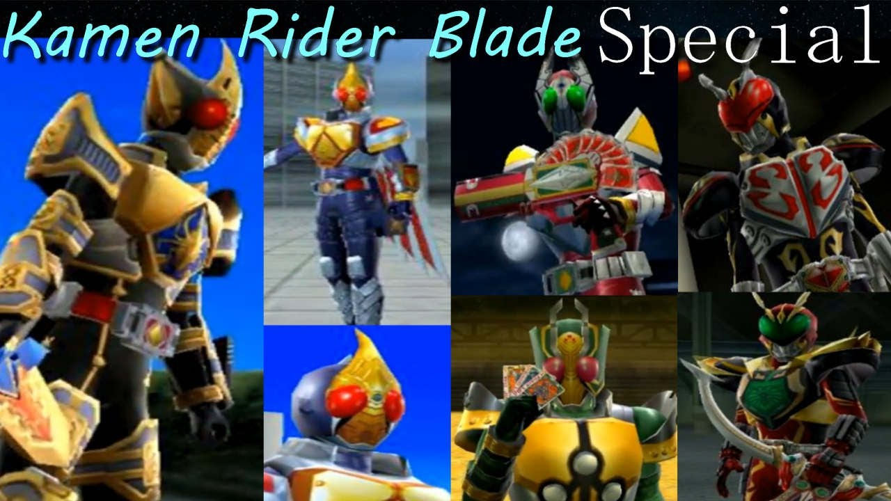 krsch kamen rider blade joker unleashed special hd youtube
