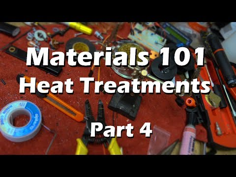 Materials Science Mechanical Engineering  - Part 4 Heat Treatment Explained