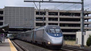 T.F.Green Afternoon Amtrak & MBTA Trains! 6.27.16