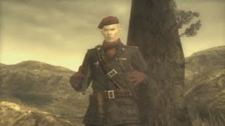 Metal Gear Solid 3 HD - Ocelot Boss Fight - Gameplay
