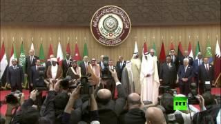 فيديو.. الرئيس اللبناني ميشيل عون يتعثر ويسقط منكبا على وجهه