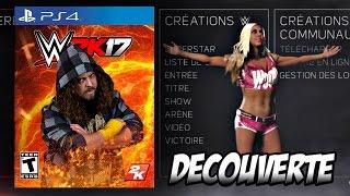 [WWE 2K17] - Découverte du Menu + Roster [HD - FR]