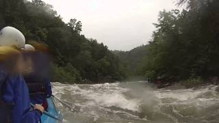 Sophia Rafting The Ocoee River At Flood Level July 6 2013