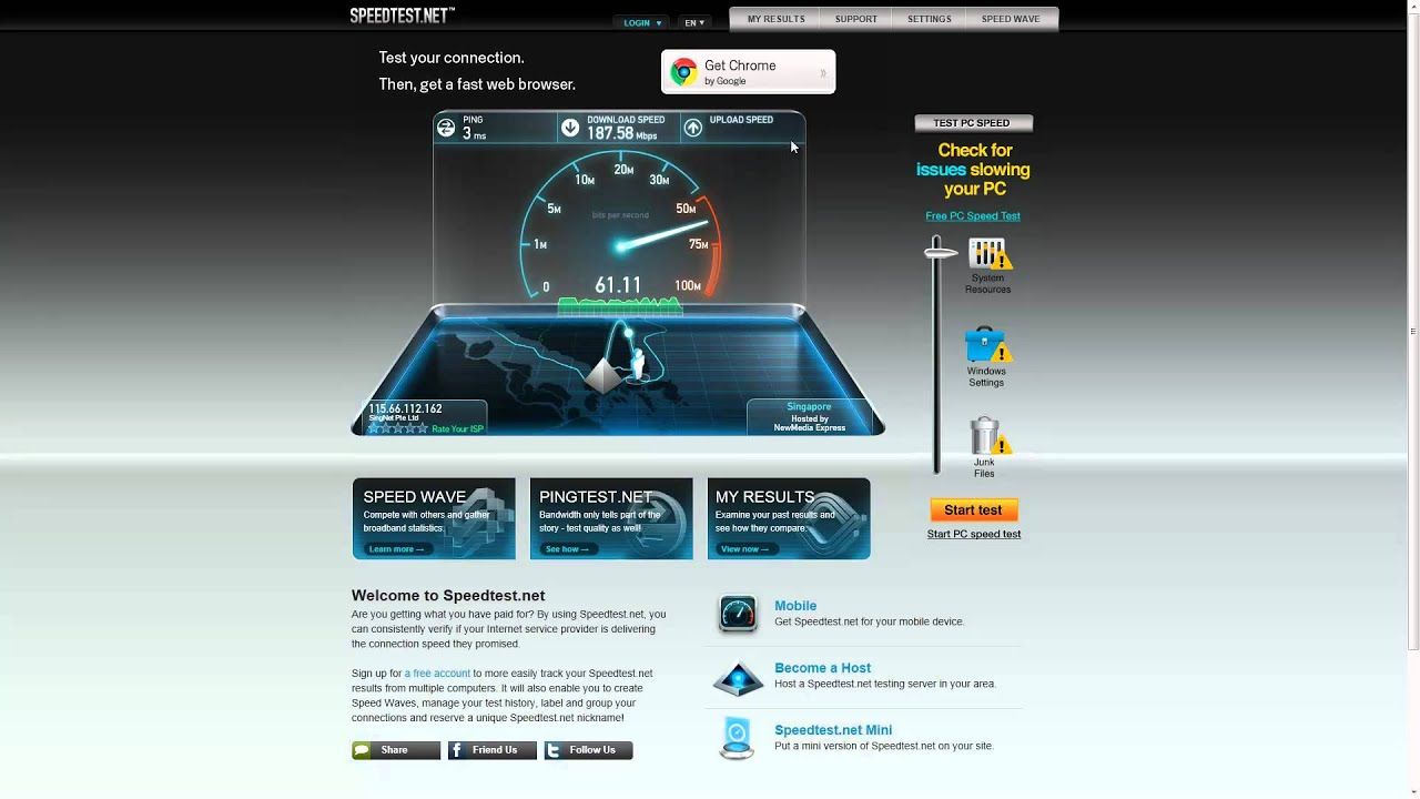 how to increase cable internet download speed