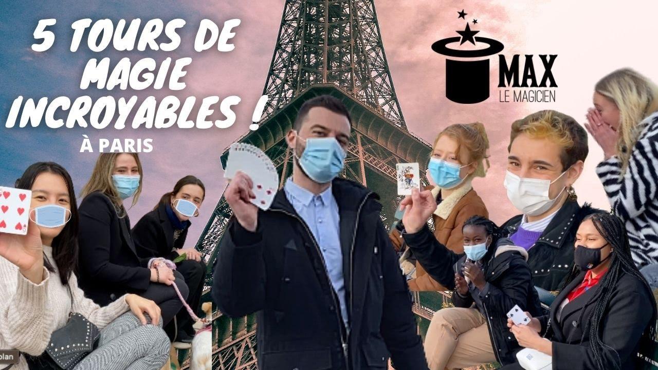 5 TOURS DE MAGIE INCROYABLES !