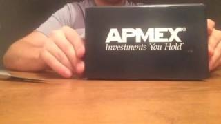 1oz gold bar from apmex