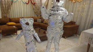 Elifi robot yaptık , eğlenceli çocuk videosu