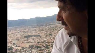 Video: Sáenz sobrevuela Salta pidiendo que cumplan el aislamiento social obligatorio